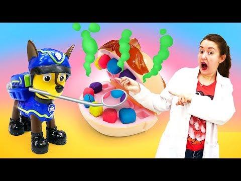 Видео Веселая Школа— Как чистить зубы правильно? Мистер Зубастик покажет! —Наприеме устоматолога
