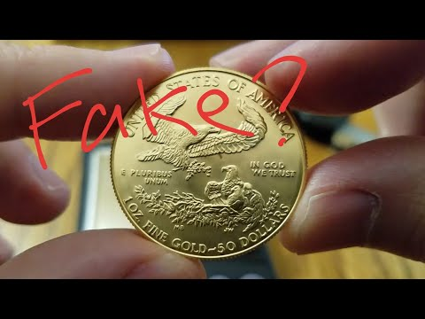 Is It Fake? 1986 American Gold Eagle 1 Oz Gold Coin