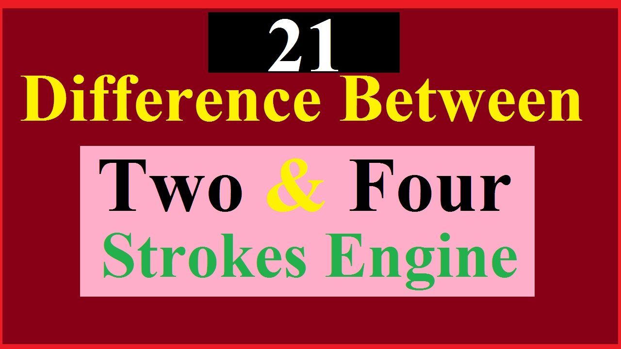 Two stroke engine: is the four stroke better? 48