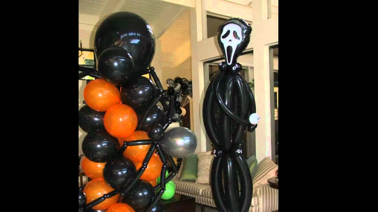 Halloween balloon decoration dreamark events www for Balloon decoration for halloween