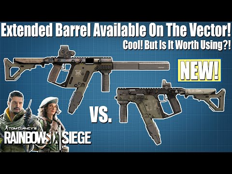 Extended Barrel is now on Mira's and Goyo's Vector! - Rainbow Six Siege