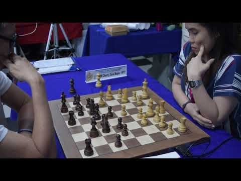 Ruy Lopez WFM Mejia-IM De Guzman Blitz Battle Of The Grandmasters Nov 192019
