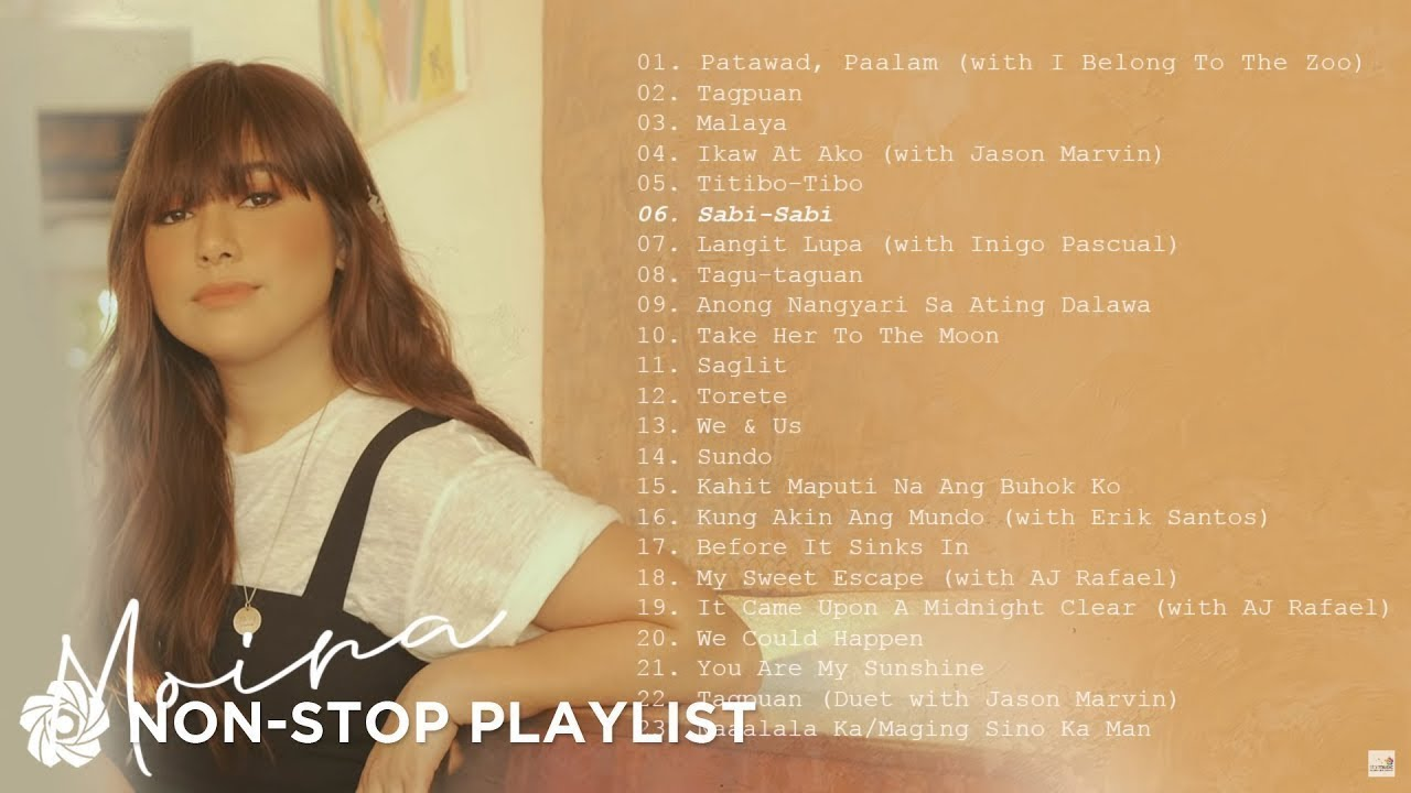 Moira Dela Torre Non Stop Opm Songs Youtube