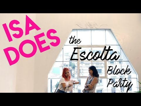 Escolta Block party (Manila art fair + weekend market)