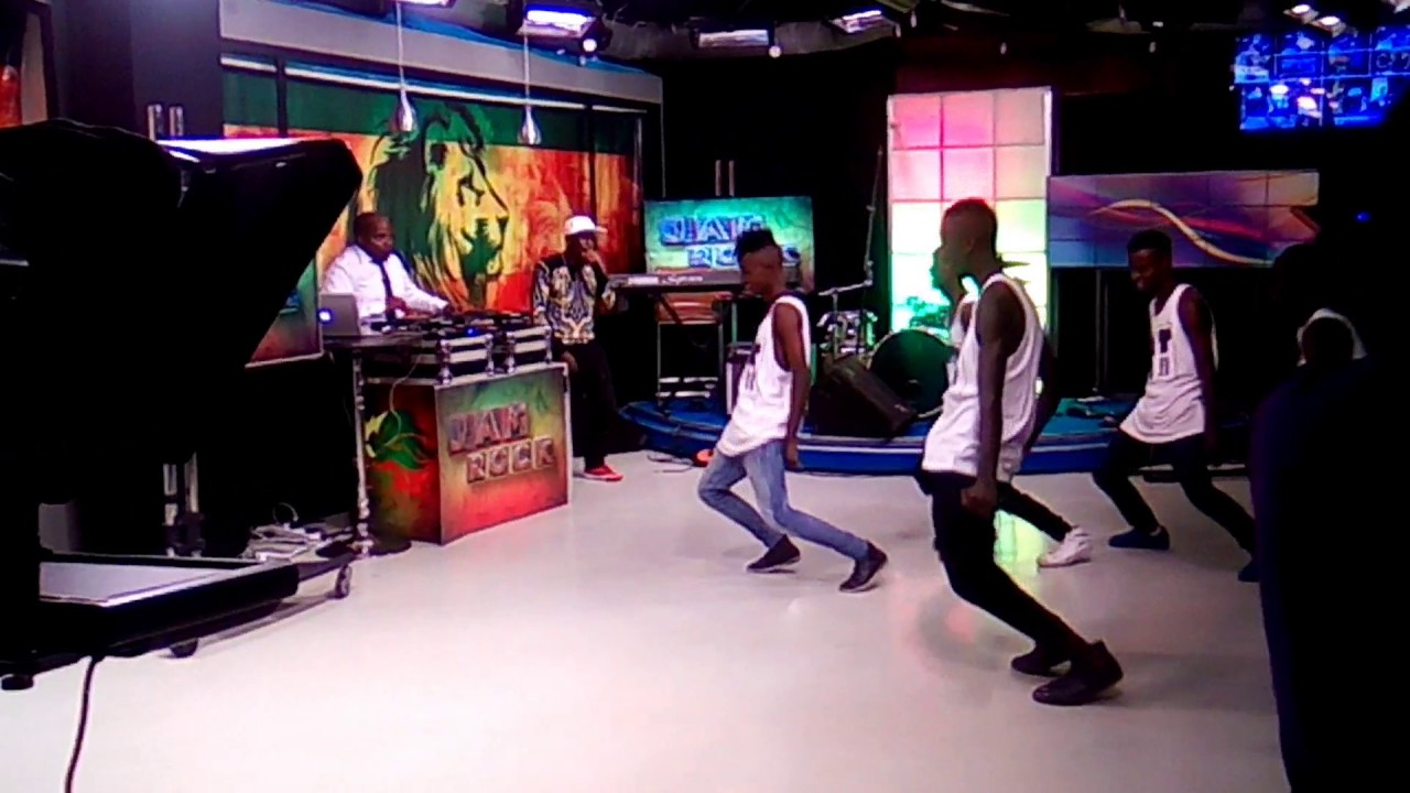 Young stars dancers live on #ntvjamrock..
