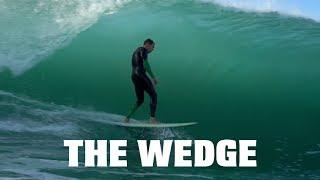 The Wedge | Stuck inside | Slow Motion | HD | Chad Barba | September 17th 2018 | Newport Beach