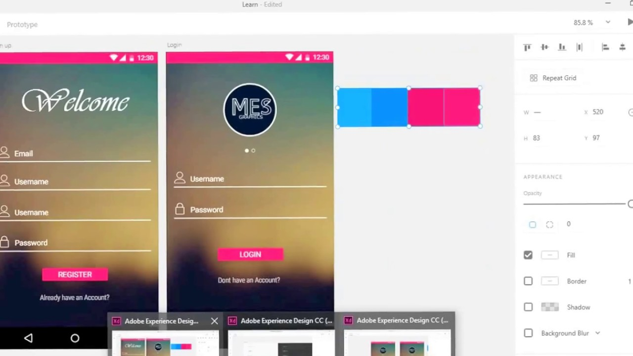 Android Material Design with Adobe Experience Design (XD)