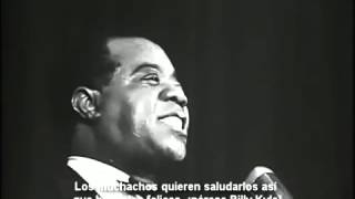 When the Saints Go Marching In - Louis Armstrong - Live - Bélgica 1959   Subtitulado en Español