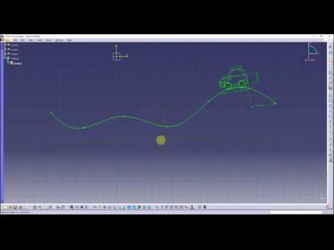 Catia - sketch animation