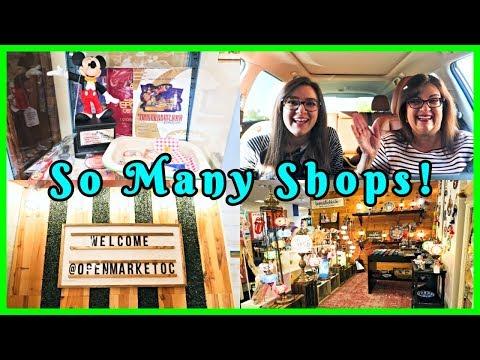 OPEN MARKET OC! Disney, Handmade Crafts, & More - VLOGTOBER DAY 19