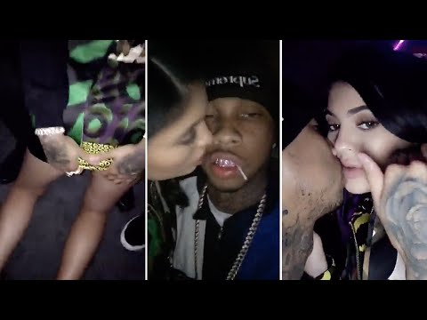 Kylie Jenner & Tyga Making Out + Tyga Grabbing Kylie's Ass! | Full Video thumbnail