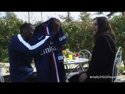 Hello PSG Players | PSG | Emirates Airline