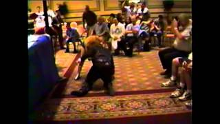 The Fabulous Moolah plays rough with G3 Gorgeous Gino Giovanni