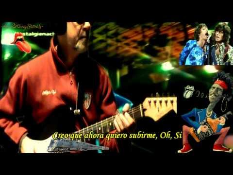 Silver Train 73 Subtitulada Español Rolling Stones & RollingBilbao Guitar Cover.mpg
