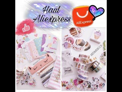 Haul Aliexpress spécial planner, bullet, scrap & papeterie  •