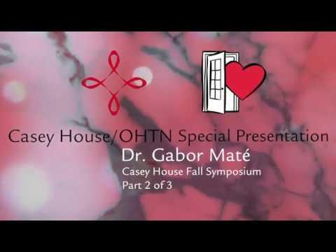 Dr  Gabor Maté Part 3 of 3 Trauma & recovery across the