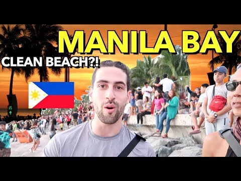 MANILA BAY Before and After UPDATE! NEW TOURIST SPOT?! 🇵🇭