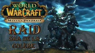 Raid World of Warcraft - Mists of Pandaria - le Sha de la colère