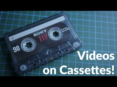 Cassette Video - Video on (Audio) Cassettes! from YouTube · Duration:  12 minutes 16 seconds