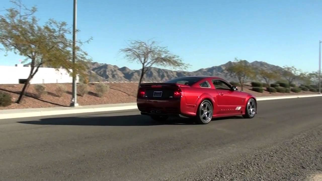 2008 Ford Mustang Saleen S302E Extreme  YouTube