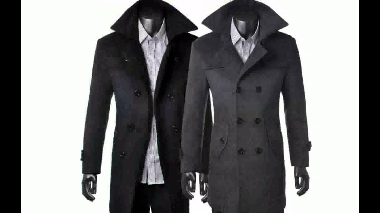 Зимнее мужское пальто. - YouTube