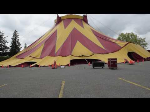 Circus Tent Time Lapse & Circus Tent Time Lapse - YouTube