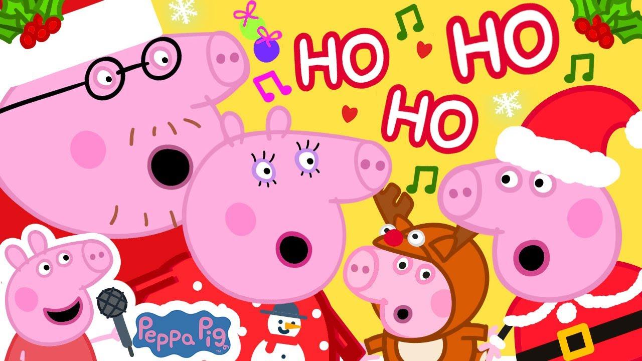 Jingle Bells - Peppa Pig | Christmas Songs for Kids | Peppa Pig Songs | Nursery Rhymes