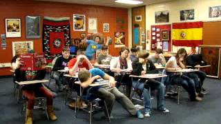 Tecumseh High School Spanish Club Harlem Shake 2013