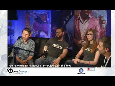 Tom Clancy's Rainbow Six Siege Official - Dev Interview E3 2014 [NA]