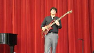 The Lesson (Victor Wooten) performed by Brad Williamson
