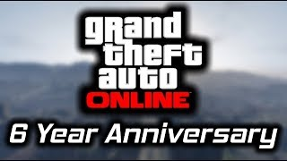 GTA Online is 6 Years Old and Still Going