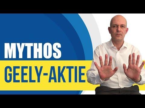 Mythos Geely-Aktie: Das müssen Sie wissen!