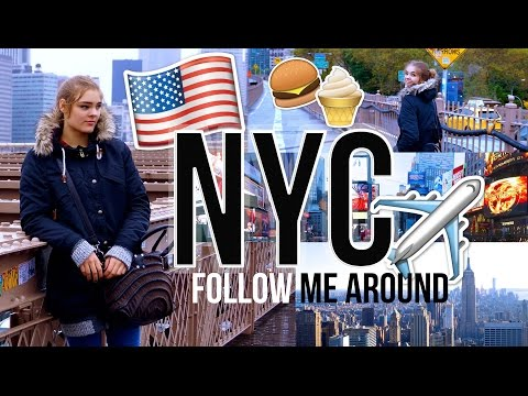 MEIN LEBEN IN NEW YORK CITY 🇺🇸 | Follow Me Around!