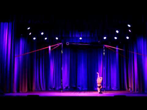 Lucia Lazebnaya Judge showcase Pole Dance Exotic 2015, Guano Apes - Don't you turn your back on me