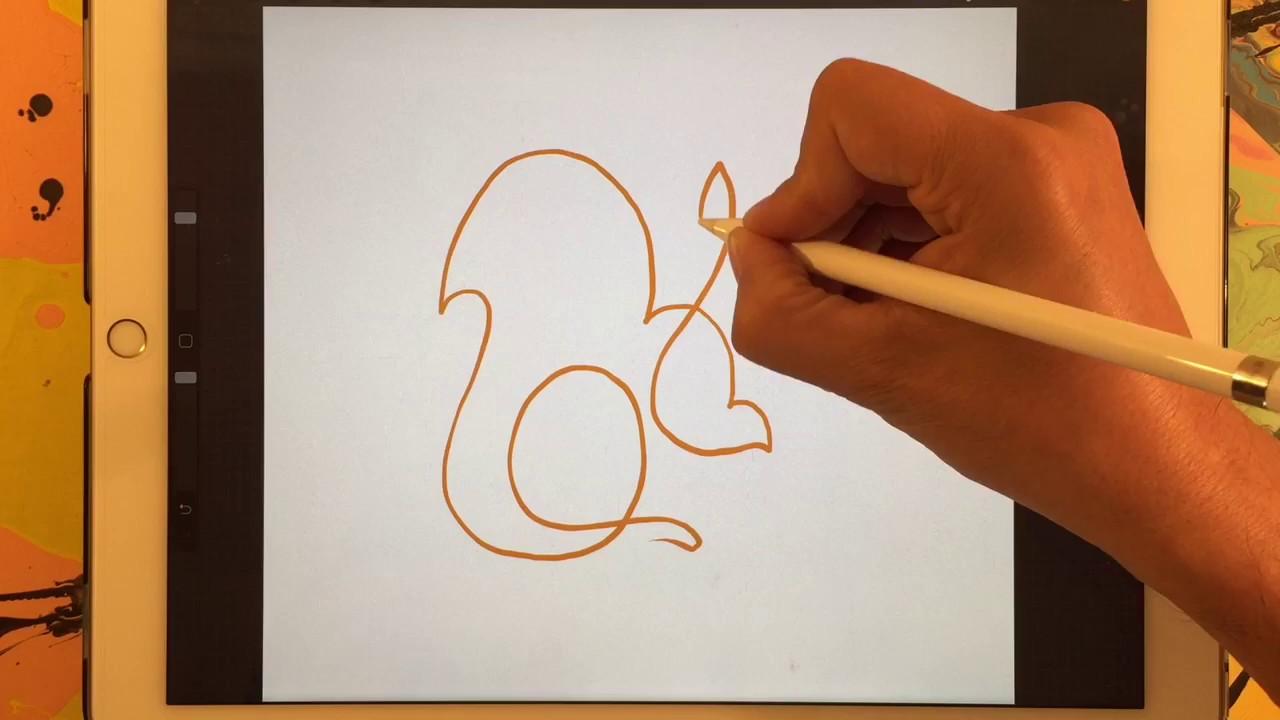 Como Fazer Desenhos De Animais Simples E Sem Levantar O Lápis Instrutivo Para Crianças