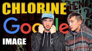 Chlorine but every word shows the first google image that comes up for that word