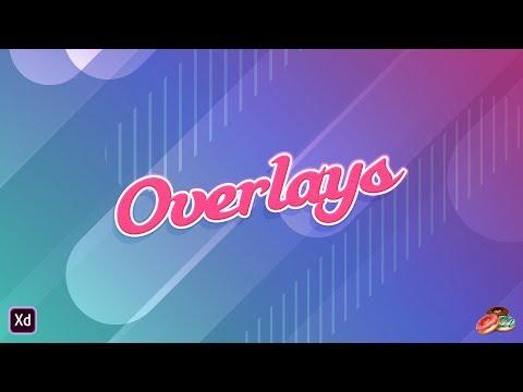Snackables: Overlays in Adobe XD