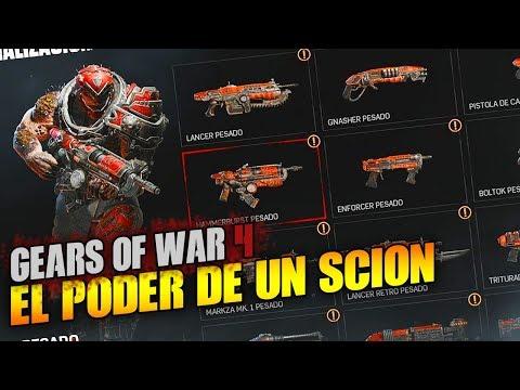 EL PODER DEL SCION PESADO!! PARTIDA PERFECTA | GEARS OF WAR 4