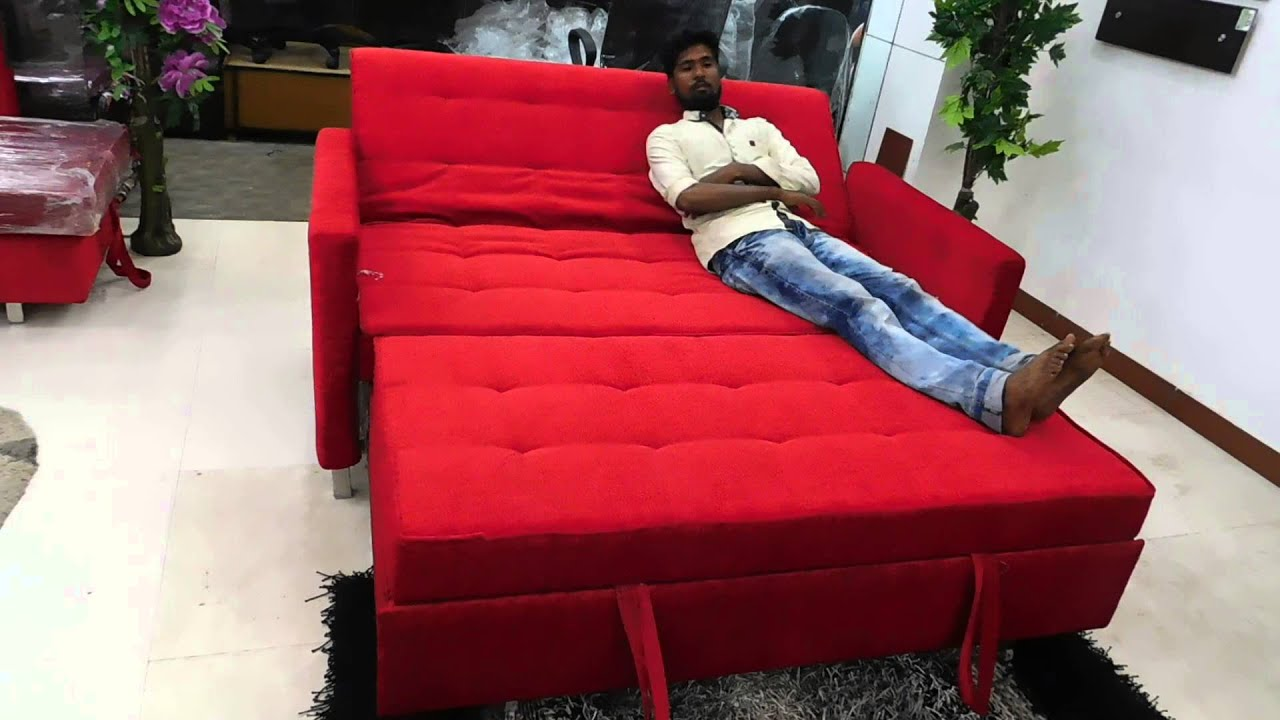 Multi Purpose Sofa Bed In Bangalore
