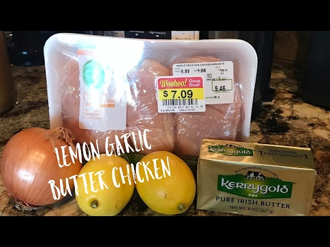 Instant Pot Lemon Garlic Butter Chicken - Keto Dinner Recipe