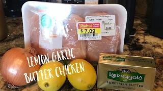 Instant Pot Lemon Garlic Butter Chicken - Keto Dinner Recipe