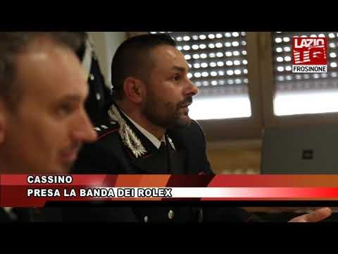 CASSINO PRESA LA BANDA DEI ROLEX