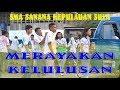 Aksi Perayaan Kelulusan SMA Sanana di Swering Mangon Kepulauan Sula