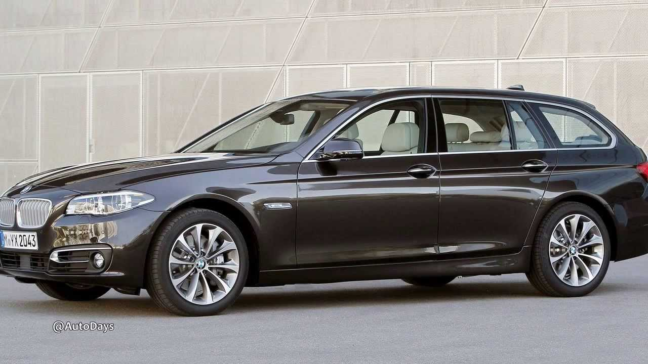 2014 new bmw 5 series touring preview first look youtube. Black Bedroom Furniture Sets. Home Design Ideas