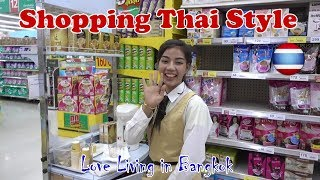 Cost of Living Supermarket food Bangkok Suburbs Thailand