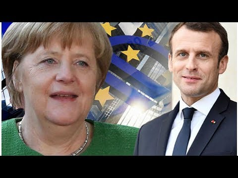 Merkel under fire: Germany RESTRICTS Chancellor's eurozone reforms in Macron snub
