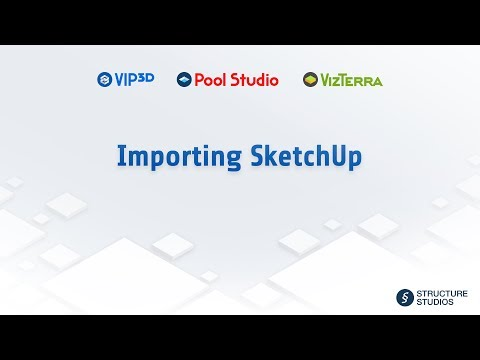 Importing SketchUp & FBX Objects (Vip3D) | Help | Structure Studios