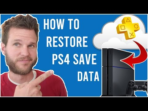 How To Restore Save Data On PS4