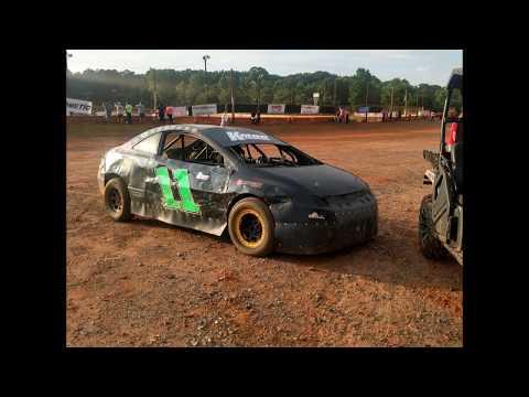 06-17-17 Jonathan Sarrat Wins at Cherokee Speedway (FWD-4cyl)