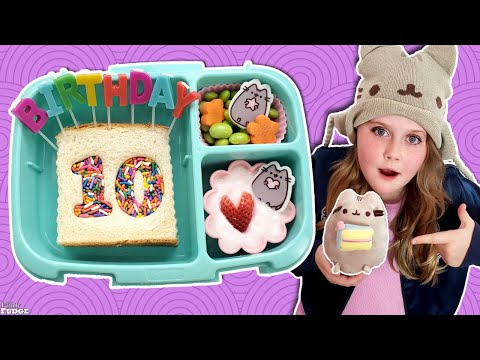 School Lunch TAKEOVER! 🎂 McKenzie's Birthday Lunch - Bunches of Lunches (ft. @Rosanna Pansino )